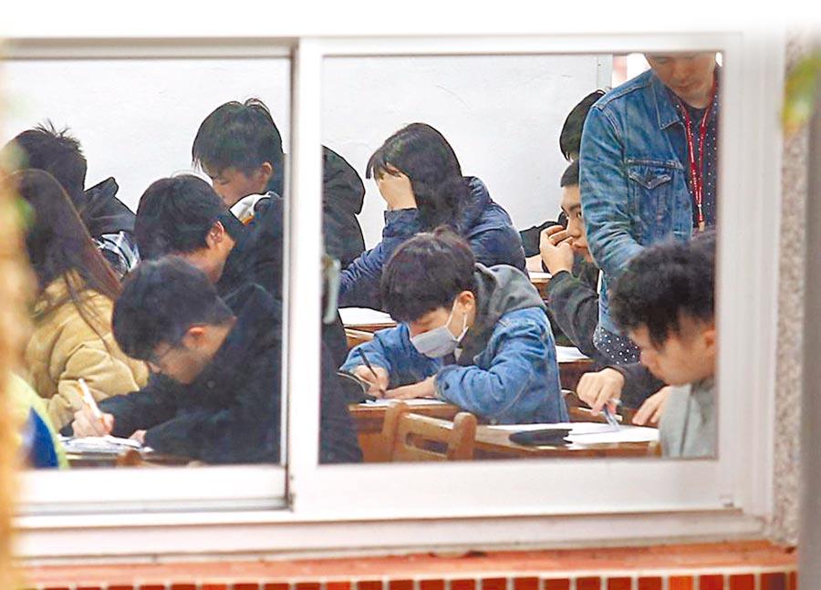學測數學科題目是否具有鑑別度,關係到無數考生的未來。(本報資料照片)