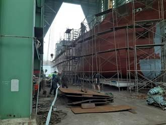 基隆造船廠竄出濃煙 無人傷亡