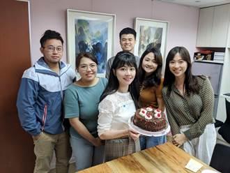 高嘉瑜40歲生日:終於有參選總統資格