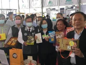 總統蔡英文 桃園參訪台灣農機展