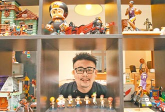 洪元建打造漫畫與玩具王國