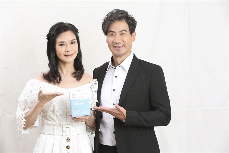 翁家明、俞小凡明星夫妻為拍廣告再合體。(民視提供)