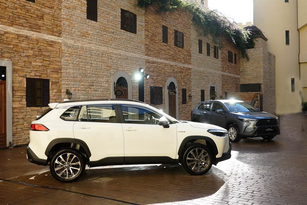 Corolla Cross以更大的車身尺碼與市場競品CUV做出區隔,企圖在快速成長的SUV/CUV市場中開創新藍海。
