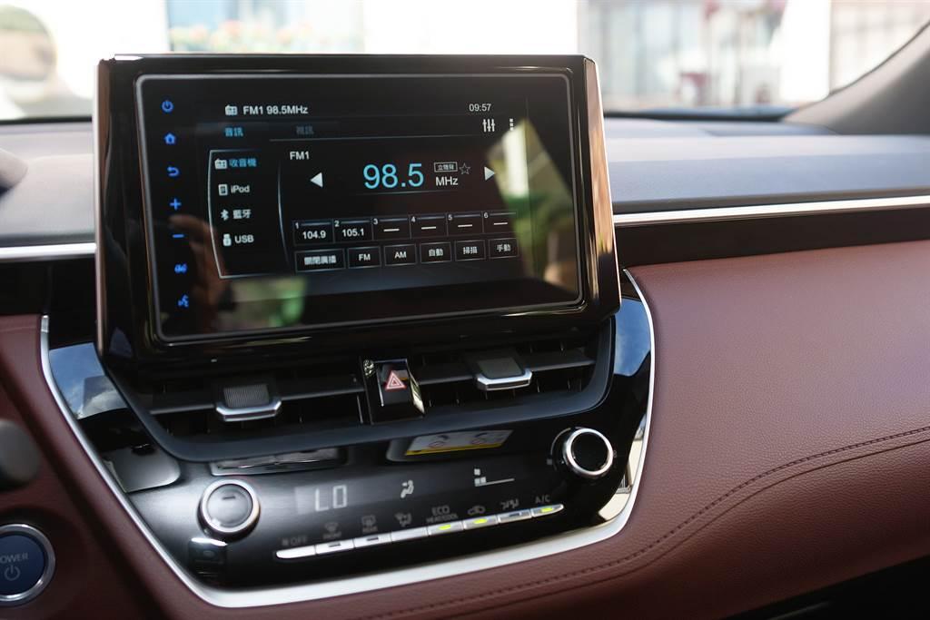 Toyota Drive+ Connect智聯車載系統功能強大,且支援Apple CarPlay及Android Auto系統。