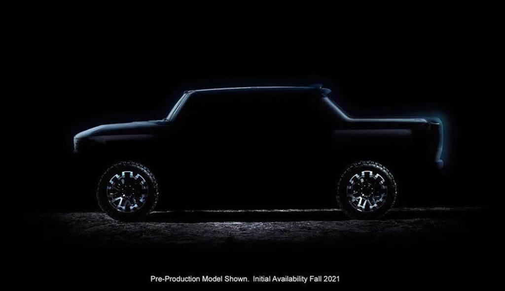 千匹馬力電動悍馬車 10/20 發表當日即開放下單,明年秋季上市交車