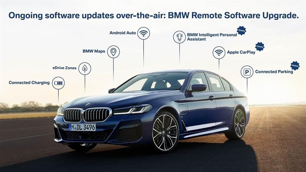 BMW啟動迄今為止最大規模的遠端軟體升級
