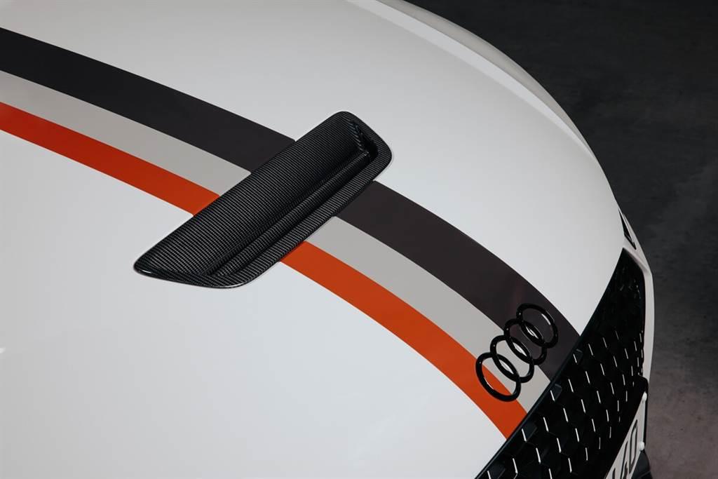 Audi慶祝quattro 40週年 推出TT RS 40 Jahre quattro紀念車款