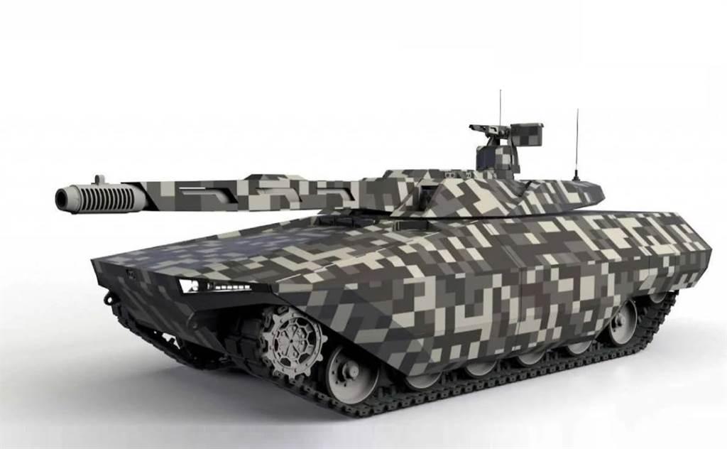 德法合作研發戰車MGCS的概念圖。(圖/Rheinmetall)