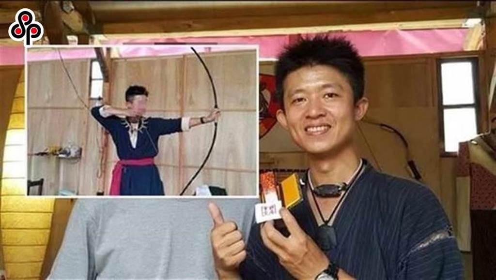長相斯文的弓道教練陳柏謙,在華山草原上搭建「野居草堂」完成自己心願,竟然犯下姦殺分屍女學員凶殺案。(中時資料庫)