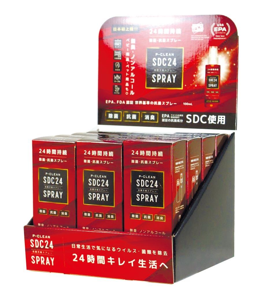 銀泰佶SDC日本商品已完成開發設計,準備搶占日本防疫商機。圖/業者提供