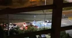 轎車五股拒檢衝撞 警連開11槍飛車追逐到八里