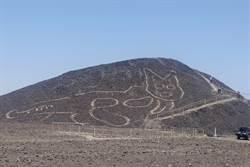 2000年前「神秘古貓」現蹤 秘魯沙漠驚見巨大身影