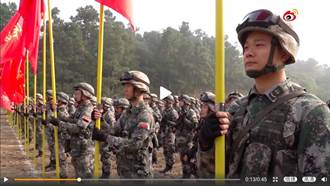 解放軍對台主力神秘誓師 出征目標打馬賽克引揣測