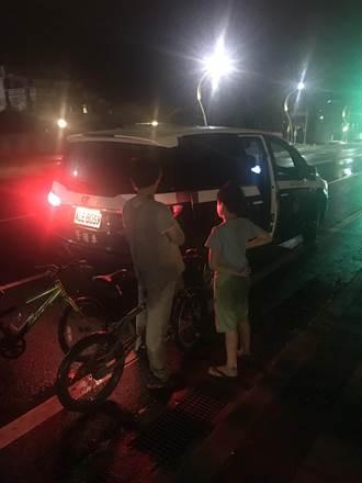 花蓮2童騎鐵馬迷航 離家十里警發現帶回