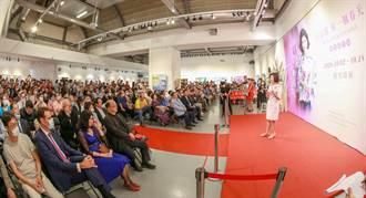 白嘉莉「另一個春天」創作展 14天湧入1萬2千人 創竹縣美術館新高