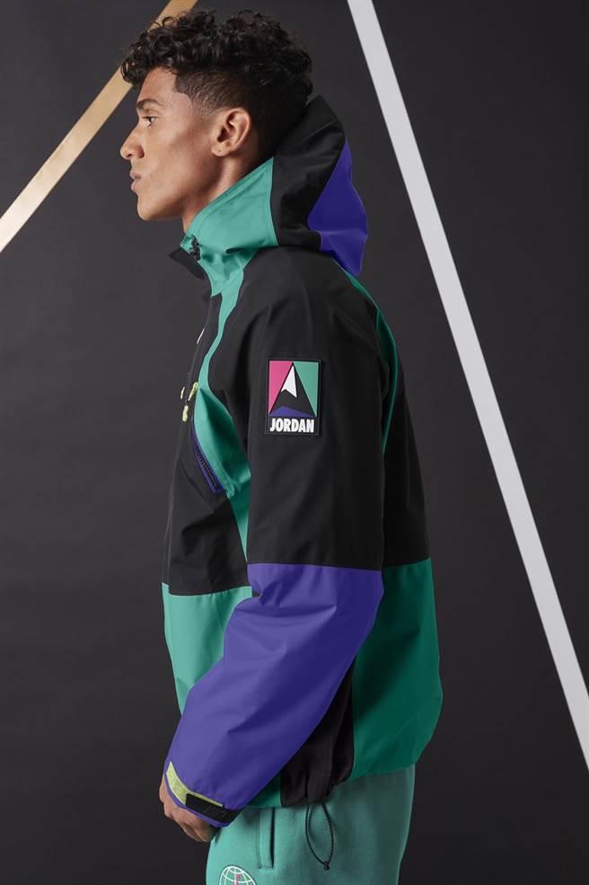 微風松高JORDAN GORE-TEX男款外套,原價1萬4780元、特價1萬3330元。(微風提供)