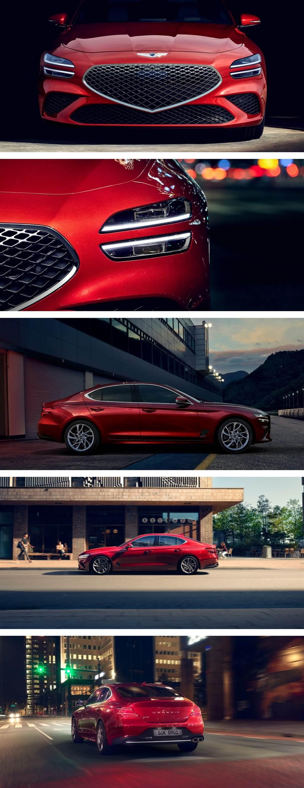 """完美導入 """"ATHLETIC ELEGANCE"""" 設計哲學,小改款 Genesis G70 南韓正式發售"""
