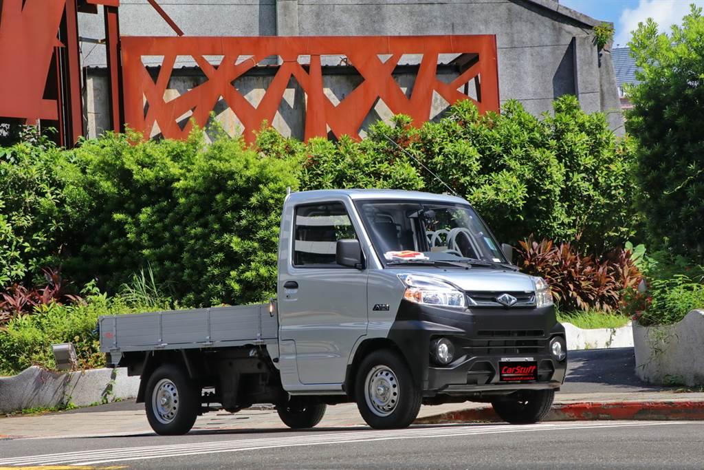 加大貨台、載重強化至950kg,CMC中華Veryca大菱利A210悄悄上市