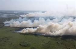 濁水溪野火燒出40公頃裸露地 民眾憂揚塵更嚴重