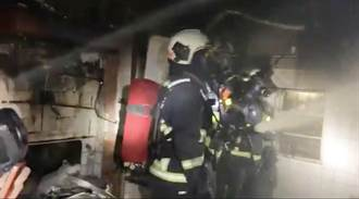 台中南屯住宅火警  6分鐘內撲滅幸無人傷亡