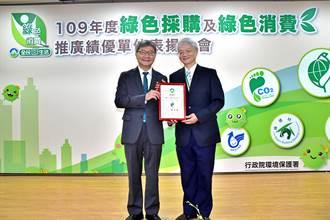《金融股》綠色採購拚振興 臺企銀連8年獲表揚