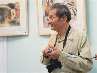 員林家商劉其偉紀念展 一起用畫布探險世界