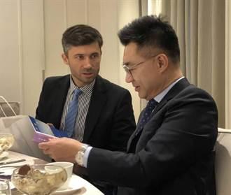 江啟臣應邀與歐盟15國聚餐 近期將邀駐台外館說明對外政策