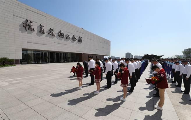 大陸於1958年建立的抗美援朝紀念館,位於大陸遼寧省丹東市。(圖/新華社)