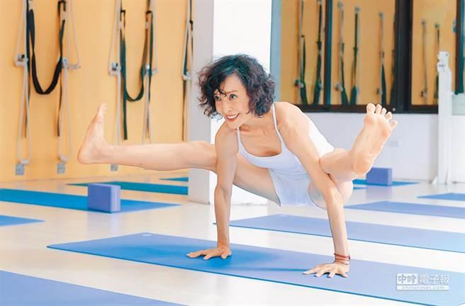陳淑麗現為瑜伽老師。(圖/中時資料照)