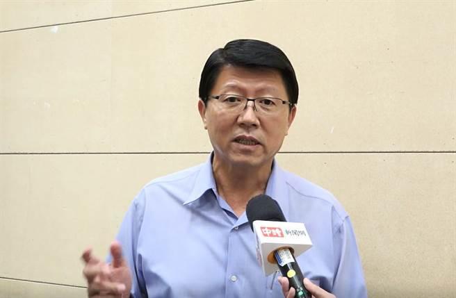 台南市議員謝龍介。(圖/陳宏睿拍攝)