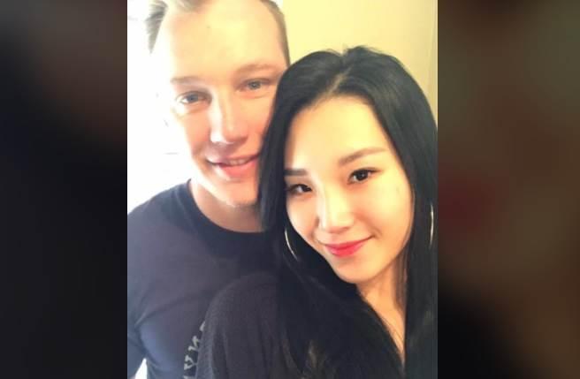 大馬女模蕭芷欣生前與外籍未婚夫感情甜蜜,原本計畫在明年結婚。(取自臉書)