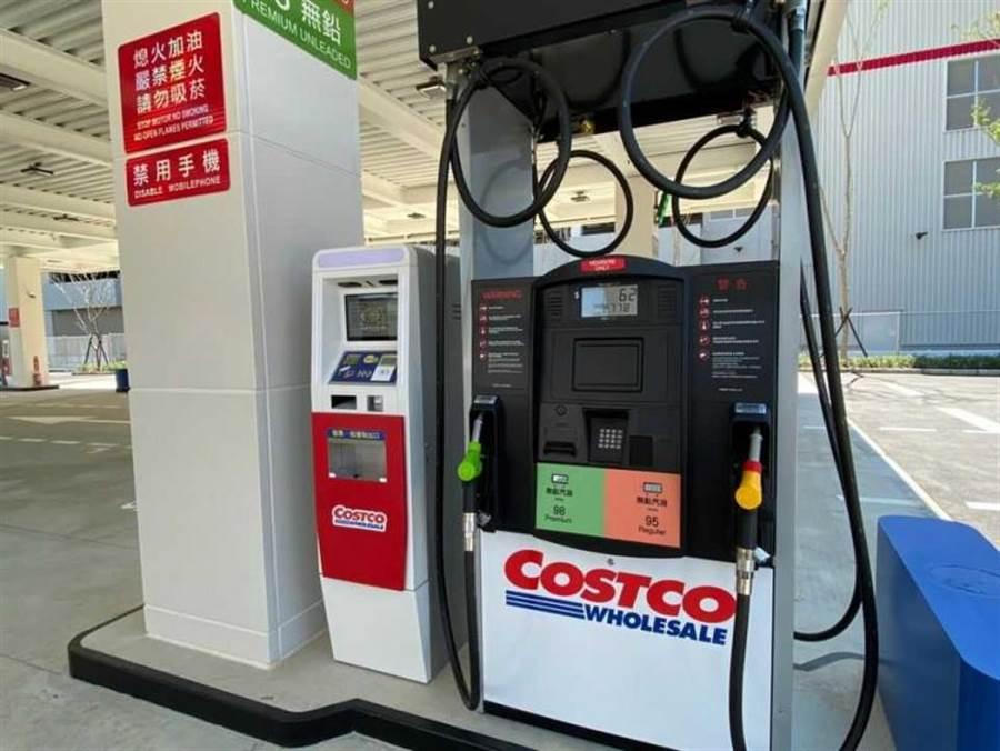 好市多「加油站」台中試營運 每公升狂省3.2元