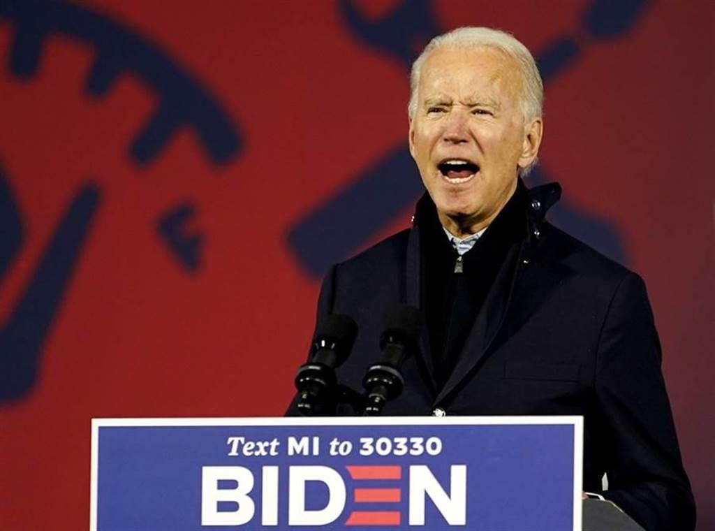 美大選「醜聞」連環爆?林濁水預測他最終結局。圖為民主黨總統候選人拜登。(資料照/美聯社)