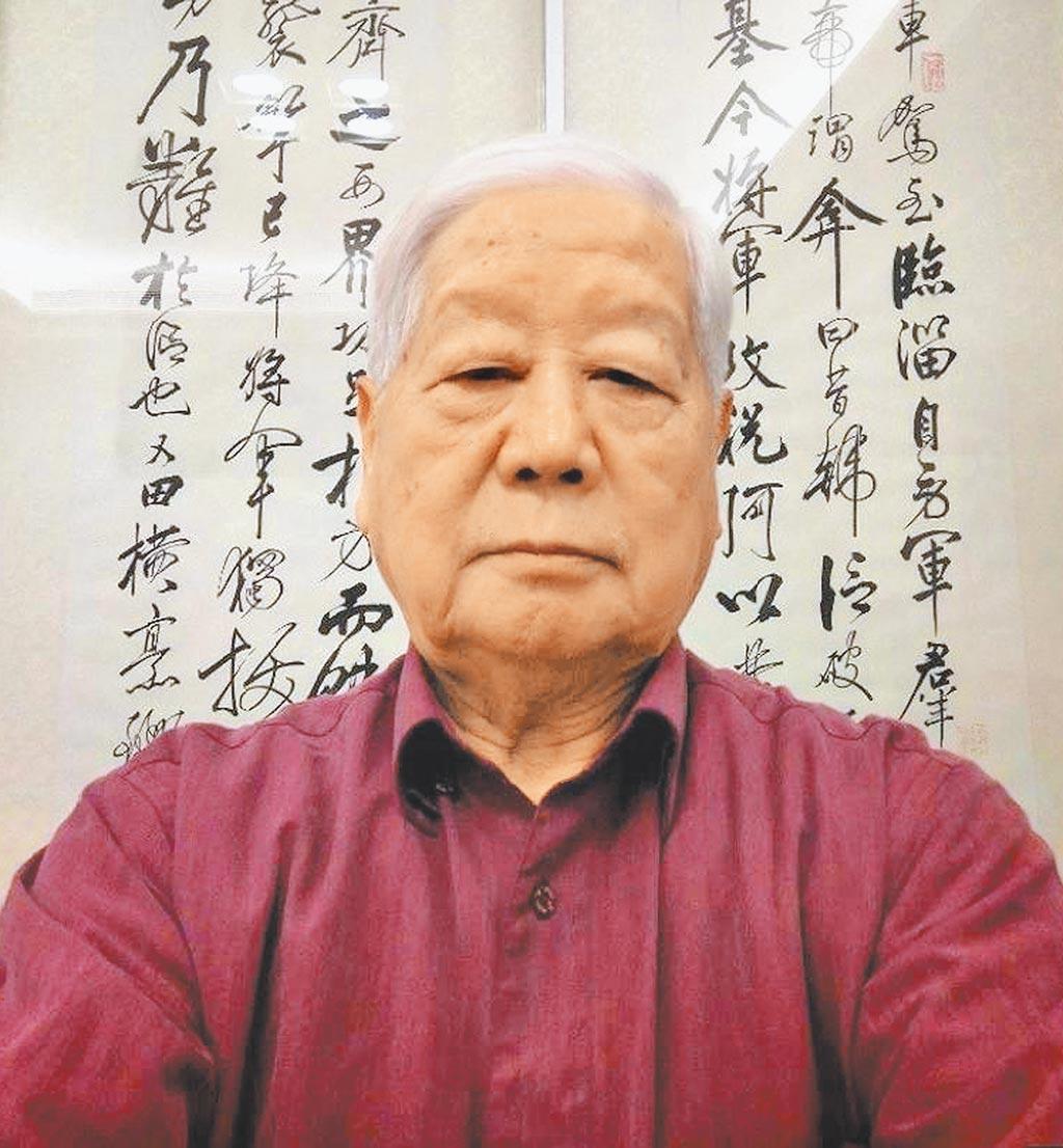 退役軍事情報局少將岳志忠。(讀者提供)