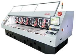 大量科技 展出六轴高效线马钻孔机
