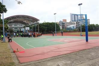 苑裡鎮立體育場二期工程動土 增設第2座風雨球場
