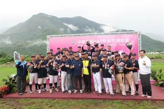 全民運台南男子慢速壘球2連霸奪金 捧回隊史第8冠