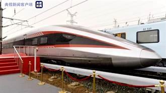 大陸高鐵創新里程碑 時速400公里可變軌動車組完工