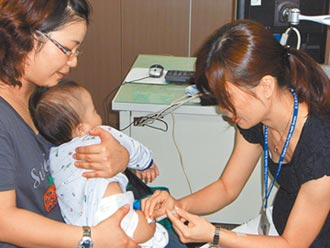 彰縣衛所分流 周二限幼兒打疫苗