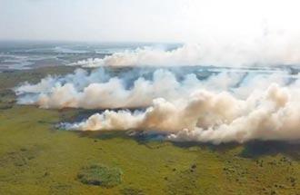 濁水溪出海口火警 民憂揚塵惡化