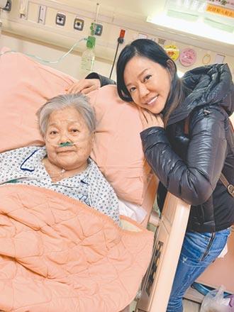 狄鶯87歲母病逝生前掛心孫安佐