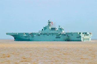 陸第三艘075艦現身 傳將造076