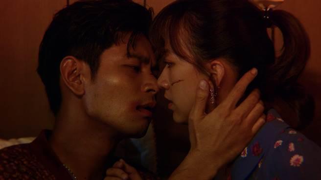 楊子儀和范宸菲在MV中飾演一對苦情鴛鴦。(唯有音樂提供)