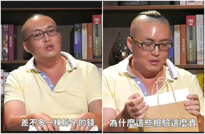 吳淳申辭掉6、7萬塊高薪的工作,決心要做無毒、天然的乾拌麵。(圖/取材自中時新聞網Youtube)