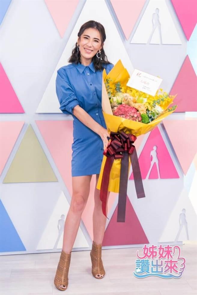小禎主持新節目《姊妹讚出來》。(愛爾達提供)