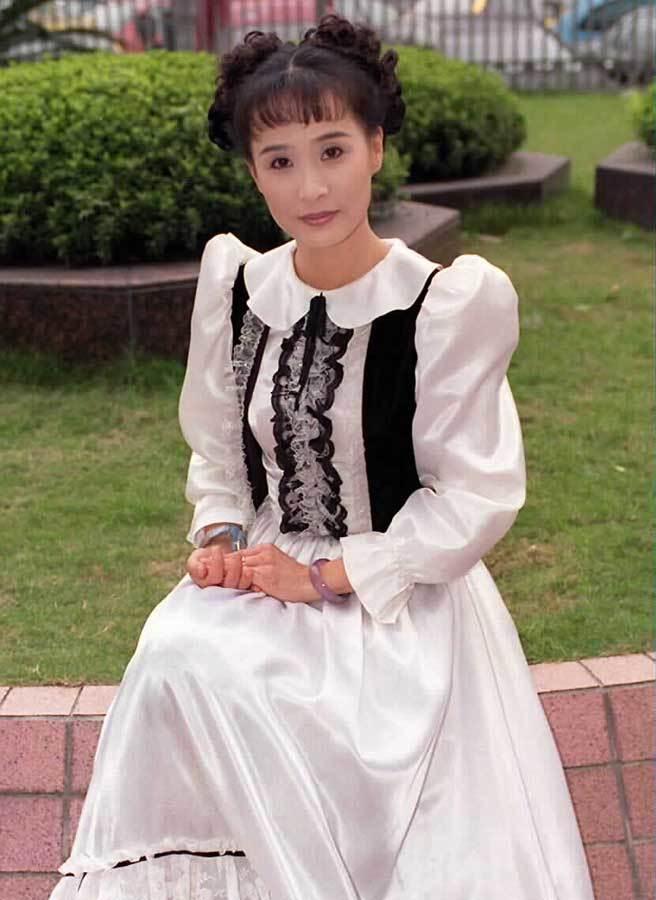 馬妞是電視歌仔戲花旦出身,後轉往電視劇,是很有人氣的女演員。(中時資料照片)