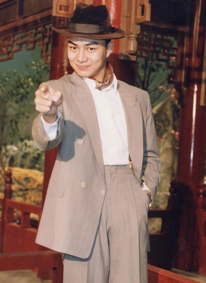 馮光榮貴為瓊瑤御用小生,高大英俊,受到許多人喜愛。(中時資料照片)
