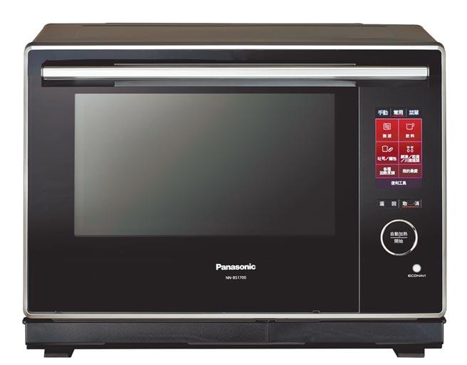 Panasonic蒸烘烤微波爐NN-BS1700,3萬6900元。(Panasonic提供)
