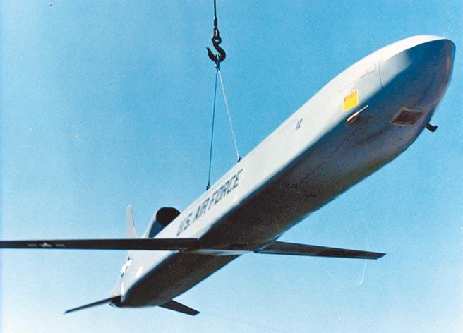 AGM-86B空射巡弋飛彈。(取自美國空軍官網)