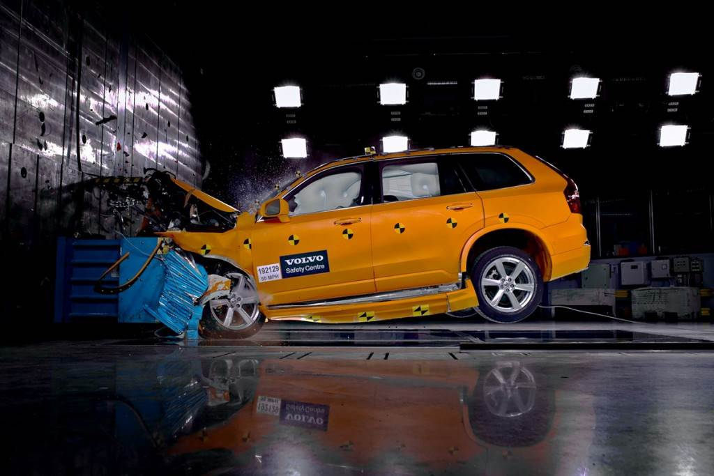 給你滿滿的五星級安全守護! 2021 年式 VOLVO 共 6 款車型獲得 NHTSA 安全滿分肯定